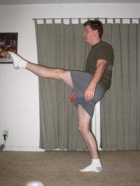 standing leg lift